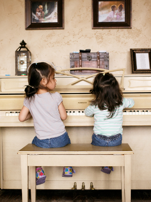 Girls at the piano-3